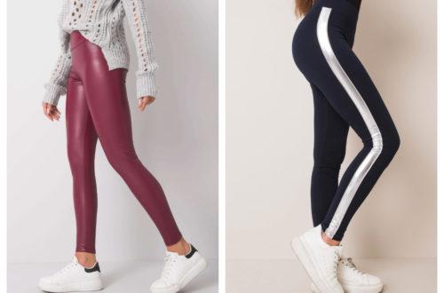 legginsy na co dzień - różne kolory
